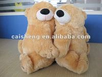Cute couple plush stuffy bear toys