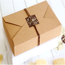 china small west cookies kraft paper box