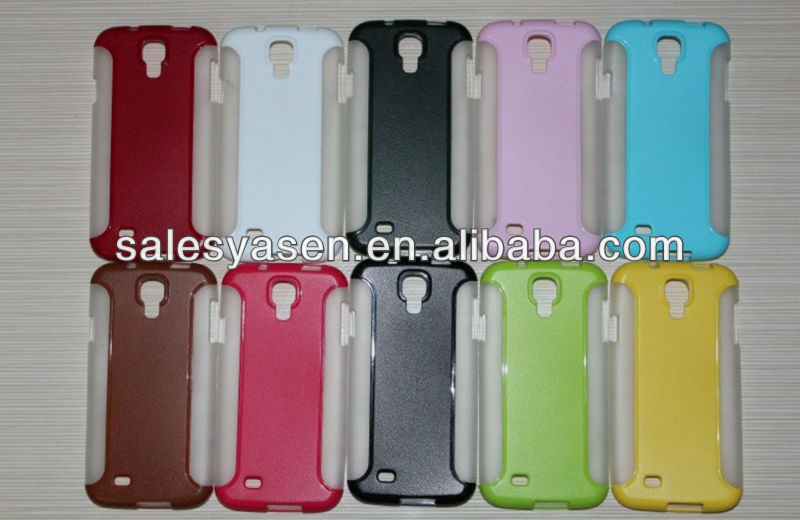 2 in one PC+TPU cover case for samsung galaxy i9500+