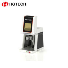 HGTECH Laser Metal Marking Etching Machine System From China