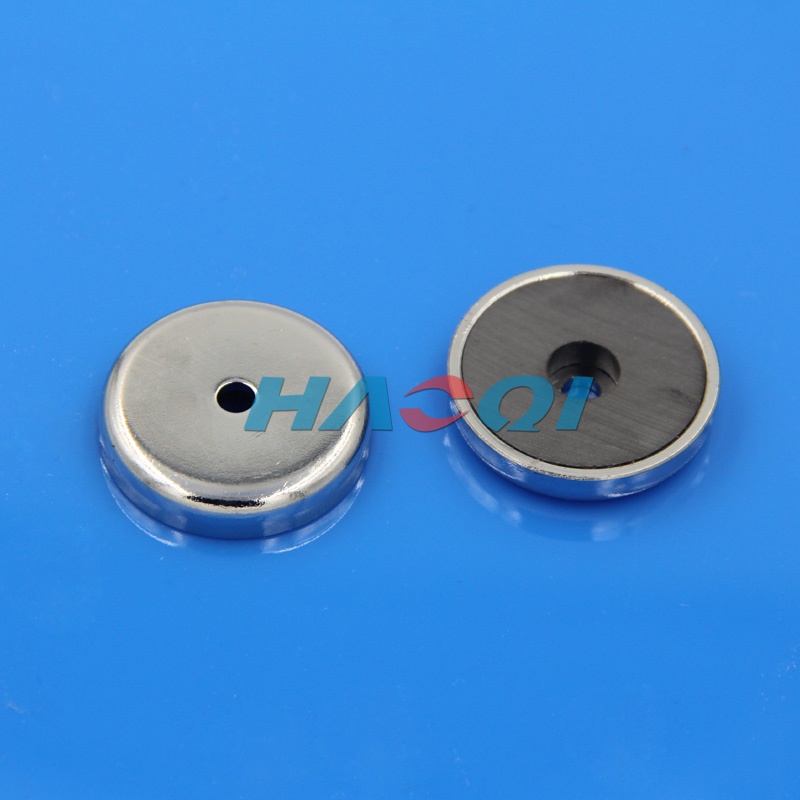 Neo pot cup round ferrite magnets