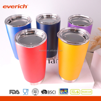 20oz Everich Customised Colorful Double Wall Vacuum Stainless Steel Beer Mug