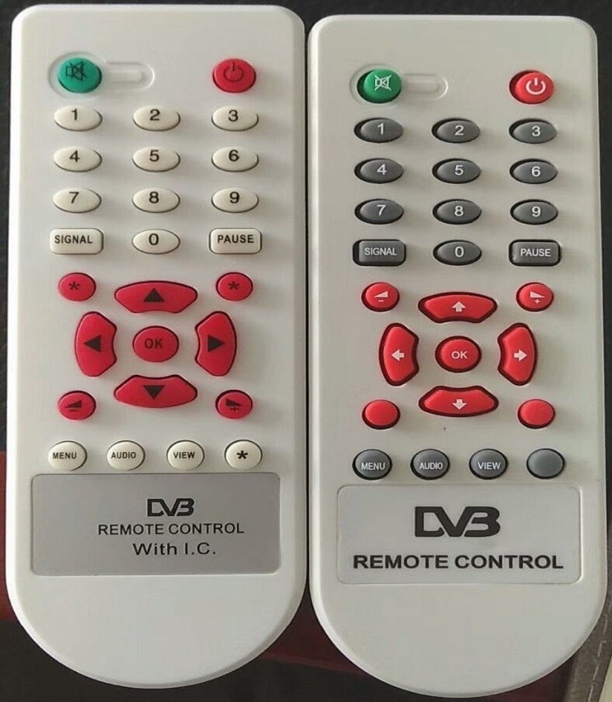 DVB remote control IR code 37 button