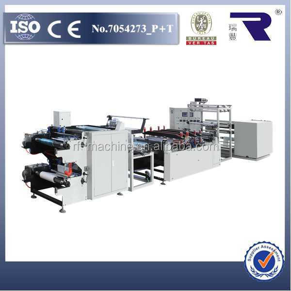 Automatic tension control RFLD-600 good quality medical reel and pouch making machine