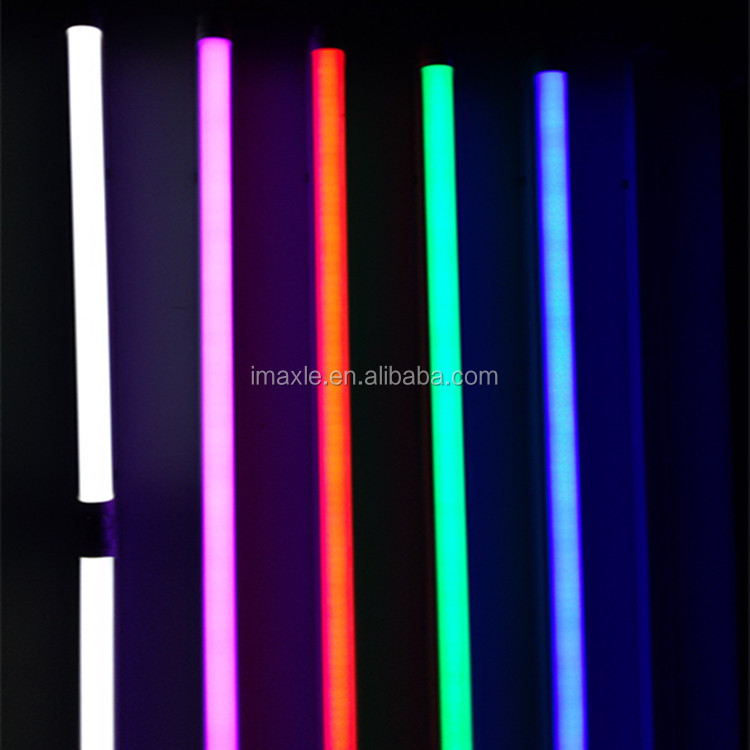 Global Sourcing Festival Colorful T8 RED led glass tube lights 18w RGB TUBE