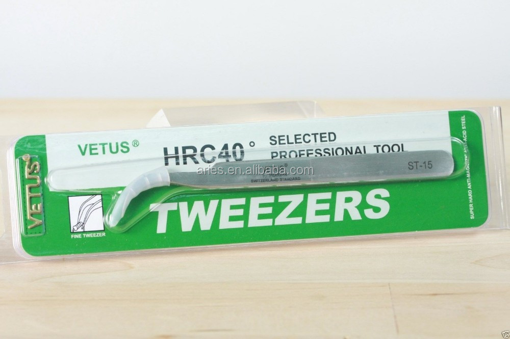 STAINLESS STEEL TWEEZERS (Straight 140mm) - TS11