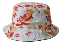 New style fashion all over printed women bucket hat