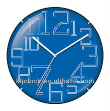 Promotional Table Clock WH-6780B Blue Dial Design