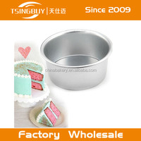 New Round Aluminum Baking Tin Pan Mold Mould for Sandwich Cake Kitchen Tool