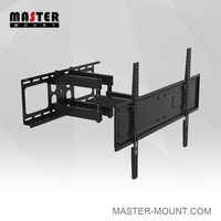 Full Motion 36 to 70 inch Rotate LED LCD TV Swivel Bracket Flat Screen TV Wall Mount