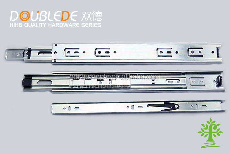 45mm Cold Rolled Steel Ball Bearing Drawer Slide