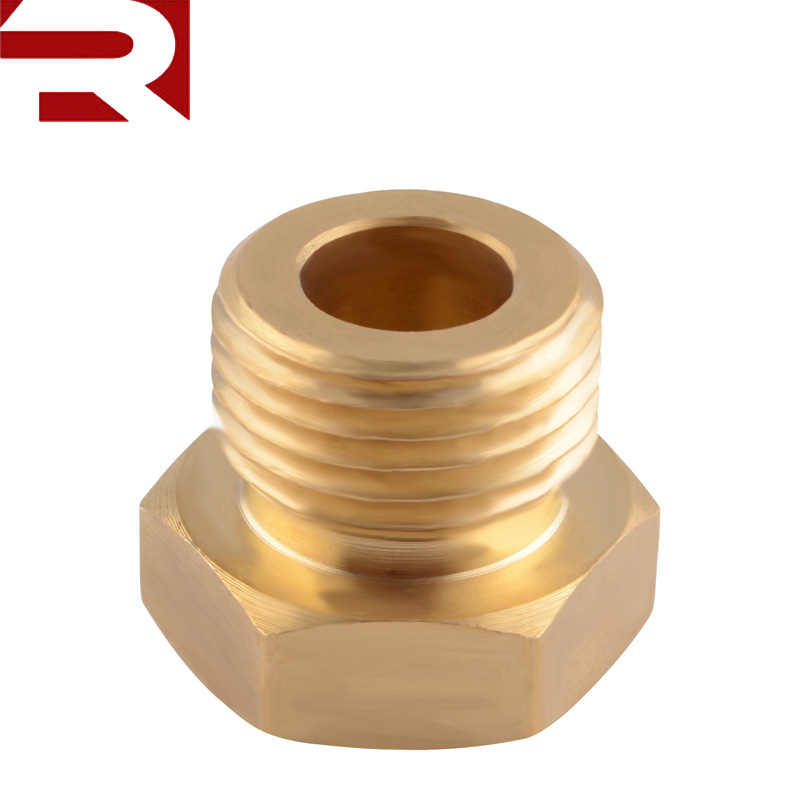 Brass 1/8 NPT Female to M16*1.5 Male Oil Gauge Oil Temperature Sensor <strong>Sump</strong> <strong>Plug</strong> Adaptor