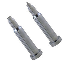 Custom <strong>Flat</strong> ejector pin, injection mold ejector pin, Custom precision mould parts manufacturer