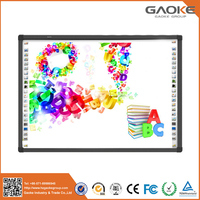 Colorful interactive wireless handwriting touch screen interactive whiteboard