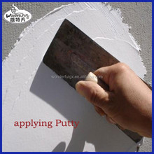 interior wall powder coating with wall putty