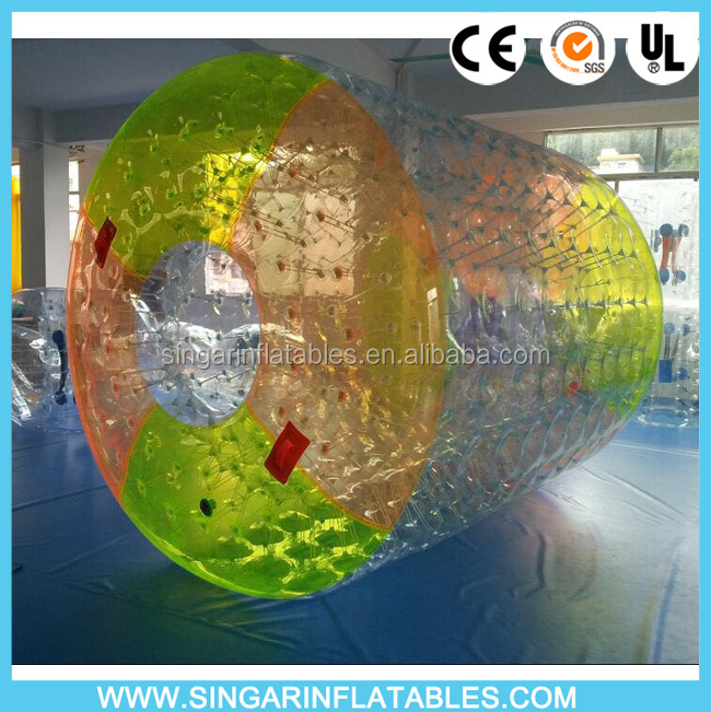 Top quality inflatable water roller ball water wheels sale