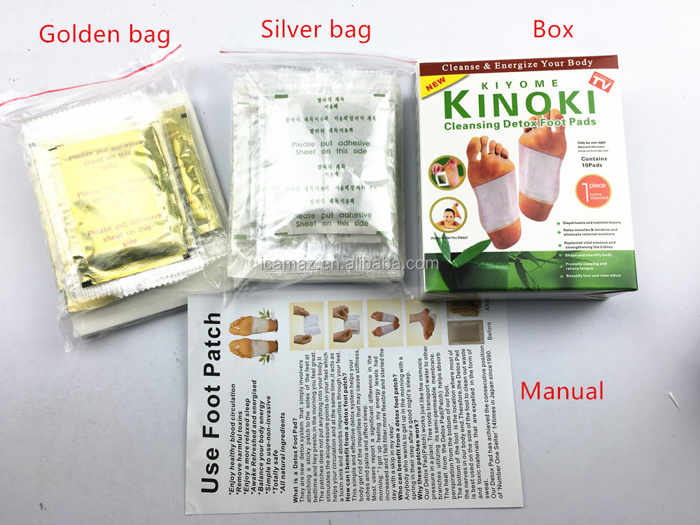 Bamboo Slimming Detox Foot Patch with medicine adhesive.OEM Package