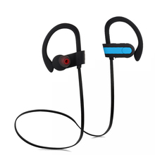 High quality BT 4.1 noise cancelling microphone earbud headset BT wireless sport headphone