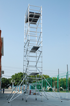 Scaffolding tower aluminum climb ladder scaffolding for sale
