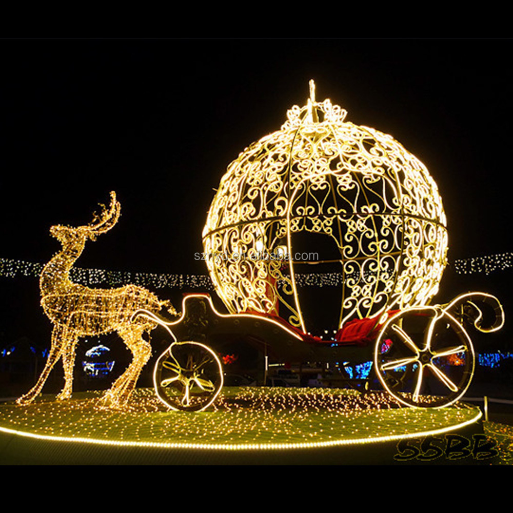 high quality dazzling christmas light christmas reindeer