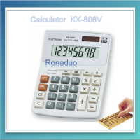 KK-808V 8 Max. Digits and Plastic Material electronic calculator