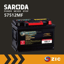 SARODA 12V75Ah automotive/automobile truck car battery