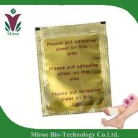 Original ! IMIROO Gold Bamboo Foot Patch, Detox Pads/ Slimming Gold Detox Foot Patch( OEM for printing, label, paper box)