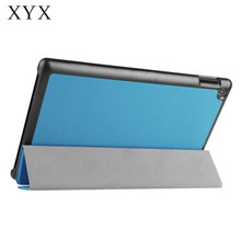 China manufacture trifold pu leather pc tablet case for Amason fire hd8 2017 laptop