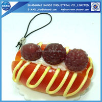 plastic resin simulated food model/fake food