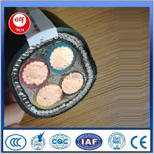 Low Voltage Copper Conductor Steel Wire Armoured Power Cable Wire Electric
