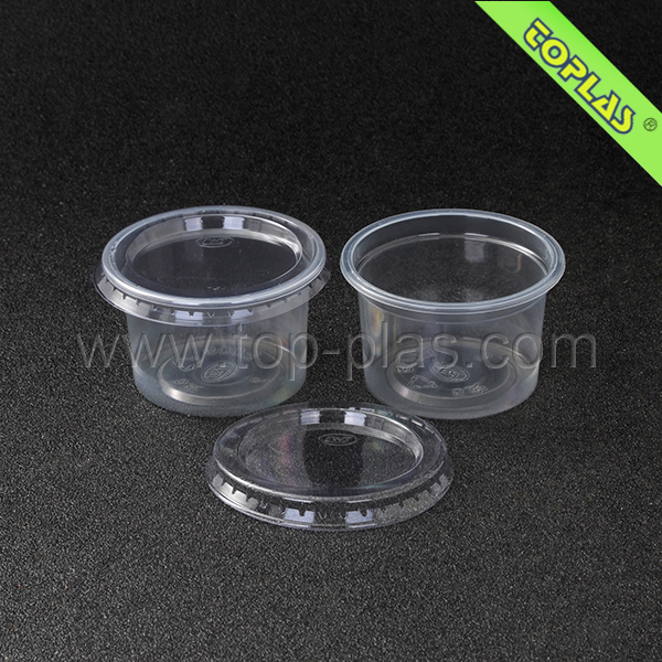 5oz PP Sauce Container With Lids