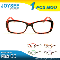 2016 Joysee Italy Design Latest Cool Fancy Beautiful Modern Acetate Optical Eyewear Glasses Frames For Girls Made In China