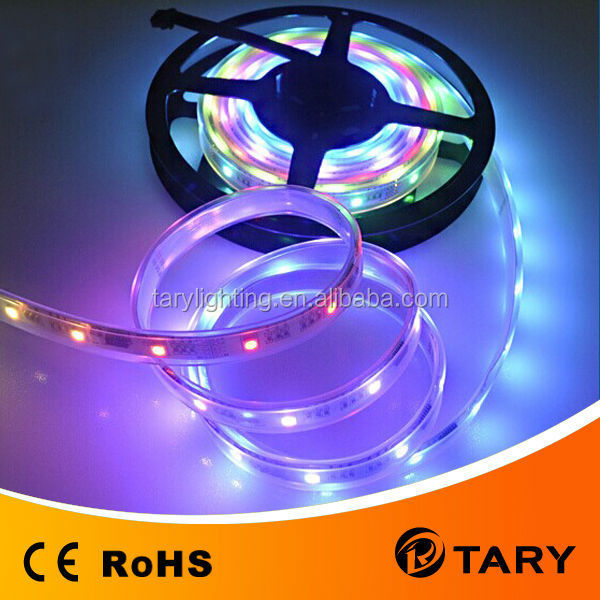 TM1809 5050SMD flexible magic dream color digital led strip