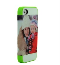 DIY new style 3D blank sublimation phone cover for iphone 4/4s