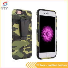 High quality wonderful camouflage color shockproof luxury free sample case for iphone 6