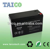 FM1270 TAICO sealed lead-acid battery 12v 7ah