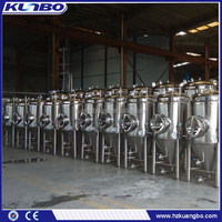 Stainless Steel Glycol Jacket Conical Fermenter