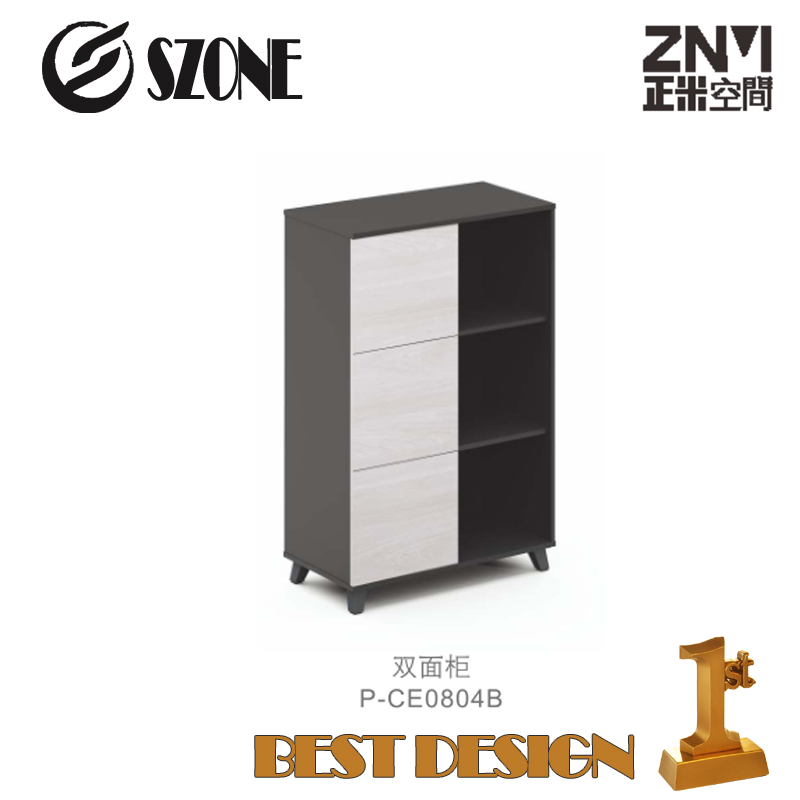 Znmis new Double face Open Cabinet( P-CE0804B) for office furniture