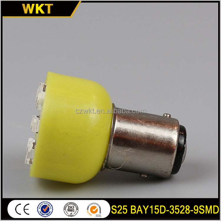 New style hot-sale BAY15D-9-3528 1157 led bulbs motorcycles