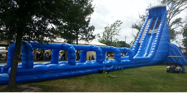 Hurricane ocean inflatable slide / inflatable big slide