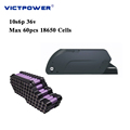 Victpower Electric bicycle Battery pack 36v 20ah Downtube Lithium ion battery 10s6p 720wh
