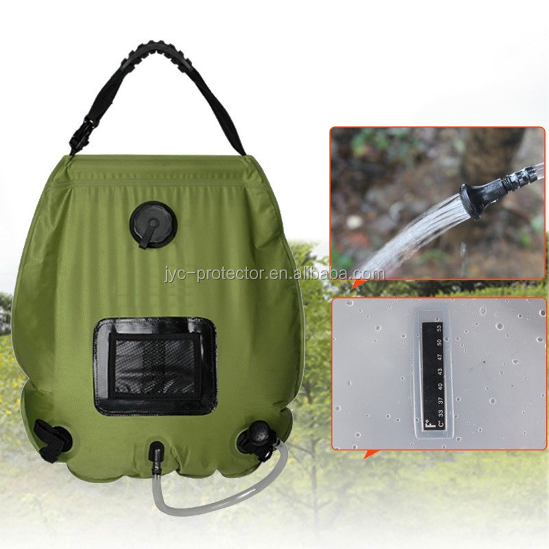 20L Portable Outdoor Camping Hiking Shower Bag