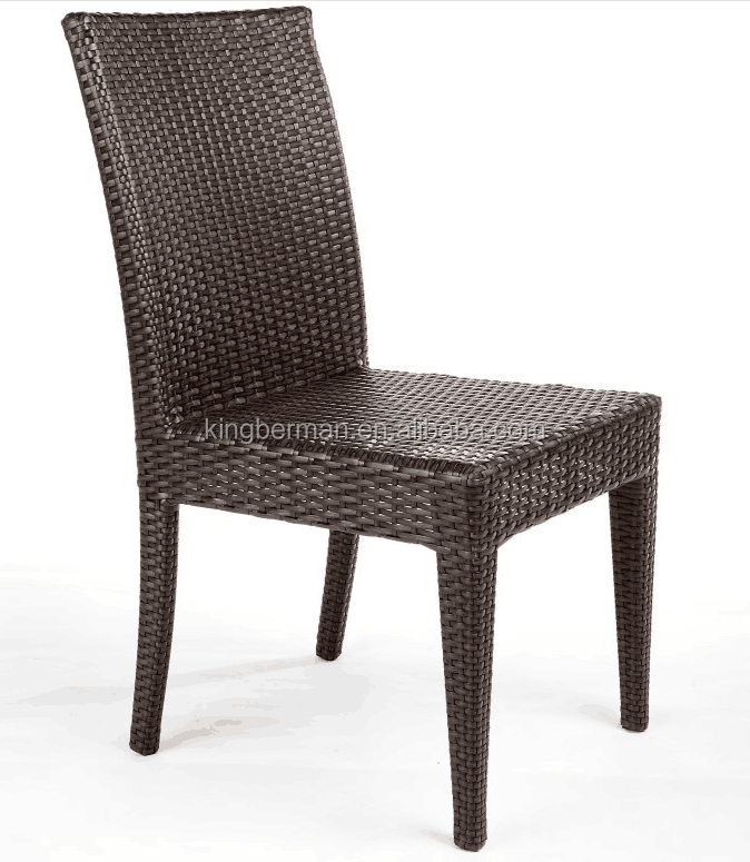 Outdoor <strong>Furniture</strong> for Restaurant Armless Chairs Rattan Wicker Dining Room Chair