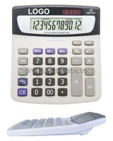 Hairong 12 digits desktop solar calculator promotion graphing calculator