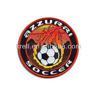 Custom Embroidery Patch Of Soccer Logo