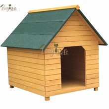 Strong Fir Wood House Ware Premium Plu A-frame Lean-to Roof Wooden Dog Kennel