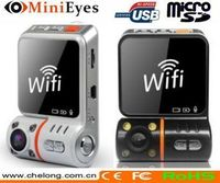 Newest Security Mate Wifi 3G wireless dvr d011 car dash camera