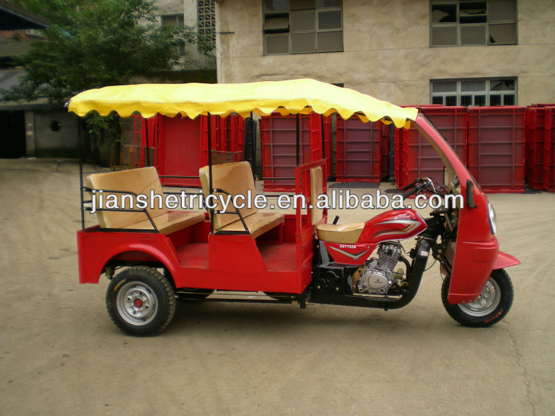 Hot selling gasoline passenger tricycle