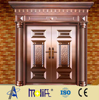 Zhejiang AFOL safe,beautiful,elegent copper doors