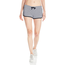 Womens custom design new style wholesale blank cotton booty shorts
